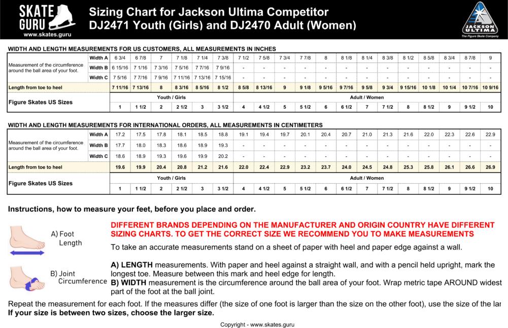 Jackson Ultima Competitor DJ2470 Ladies